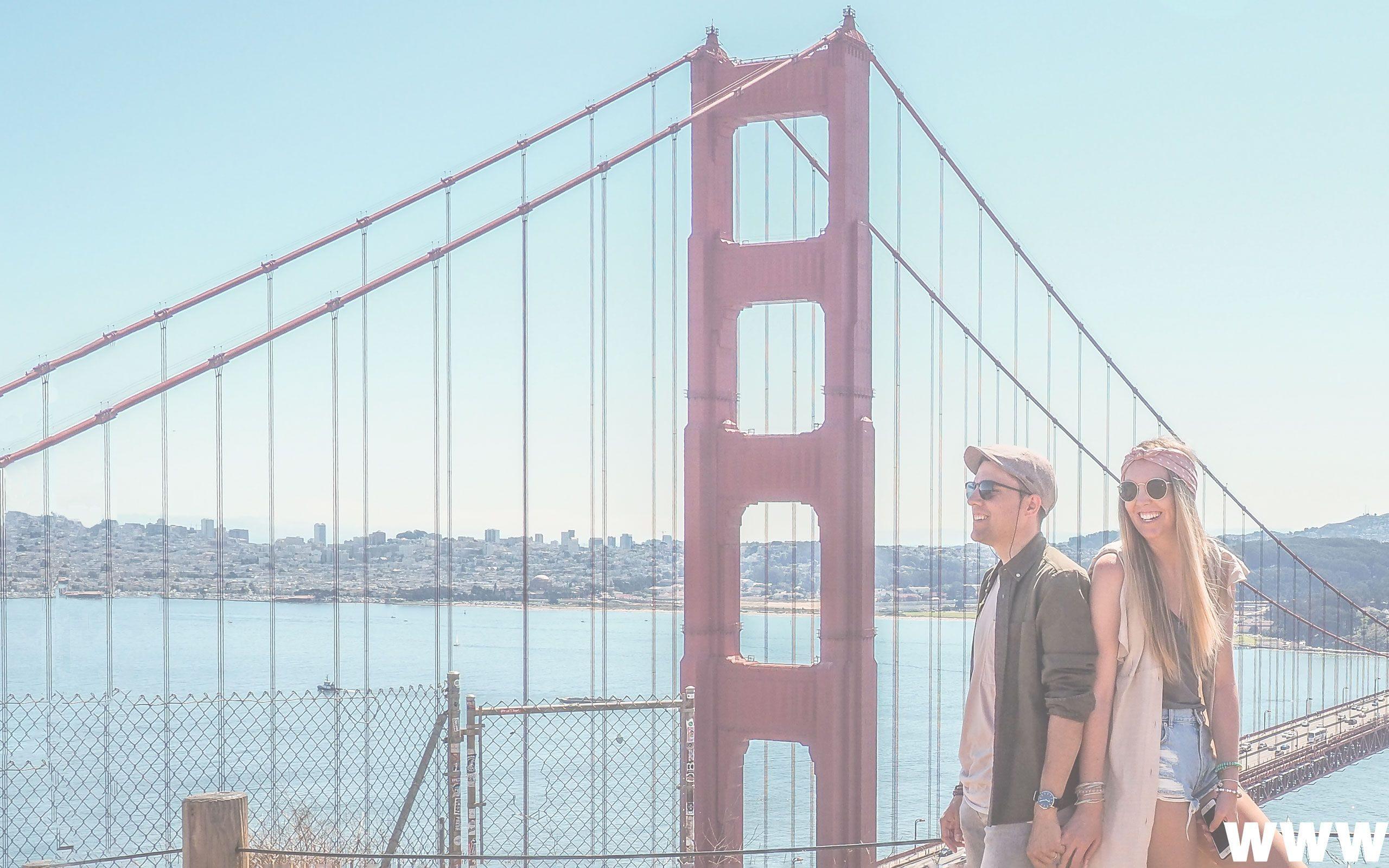 San Francisco - Puente Golden Gate - Viviendo de Viaje