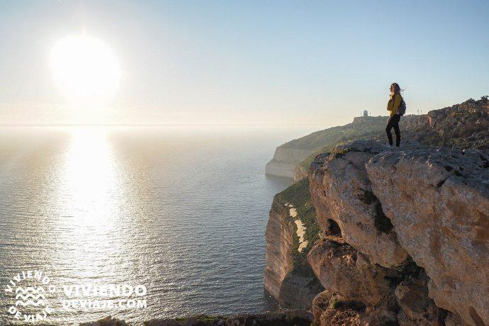 Acantilados Dingli en Malta