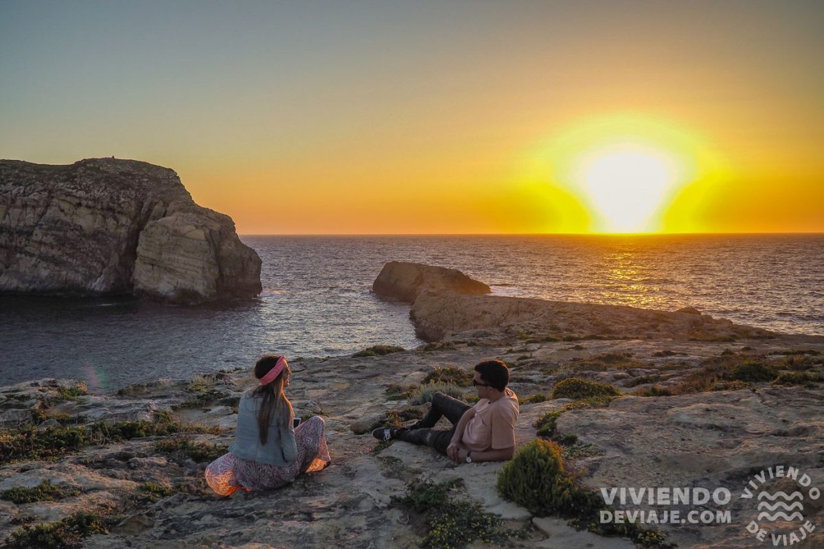 Atardecer en Gozo, Malta
