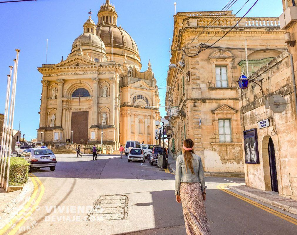 Iglesia de San Juan Bautista en Gozo, Malta