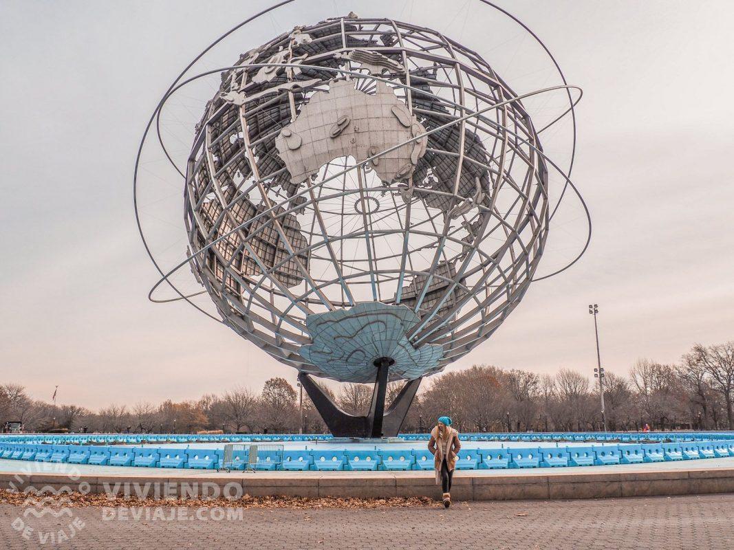 """""""Unisphere"""" en Flushing Meadow Park - Tour de Contrastes"""