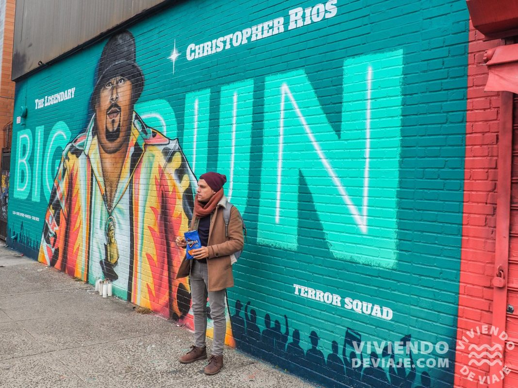 Graffiti del rapero Big Pun