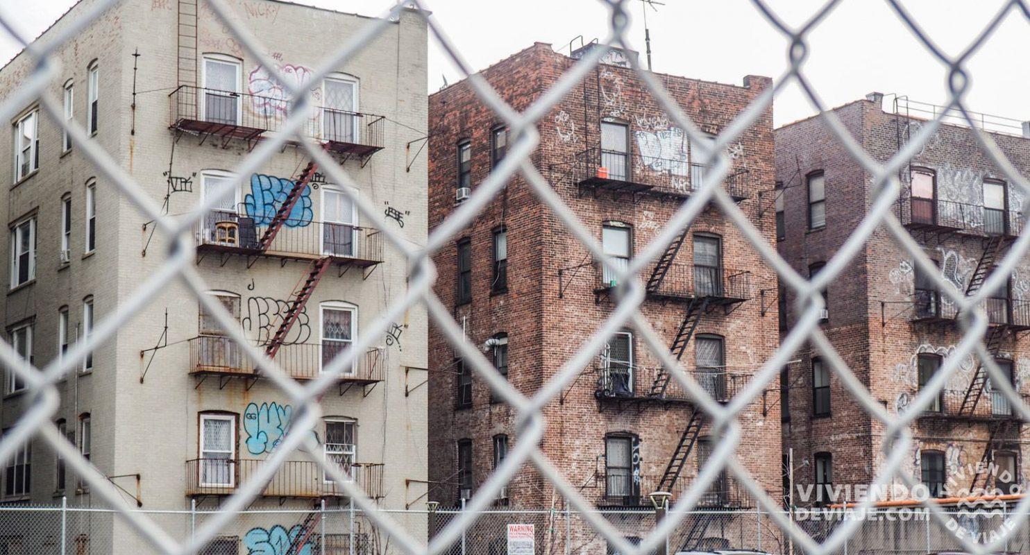 Tour de Contrastes en Nueva York - Edificios en el Bronx