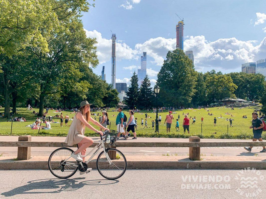 Cómo moverse por Central Park - Bicicleta