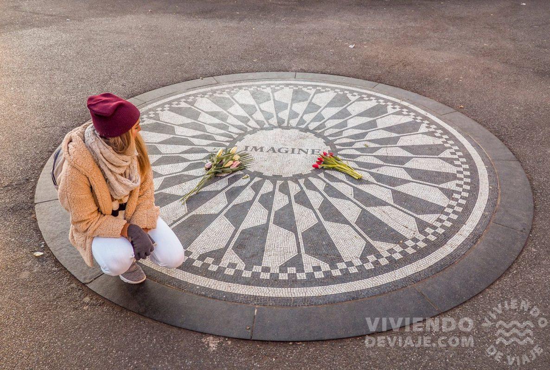 Imagine, un lugar que ver en Central Park