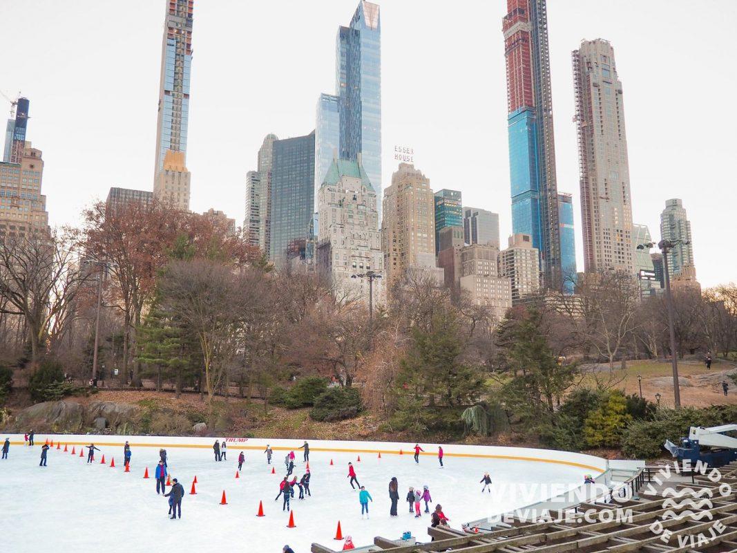 Wolman Rink - Pista de hielo de Central Park