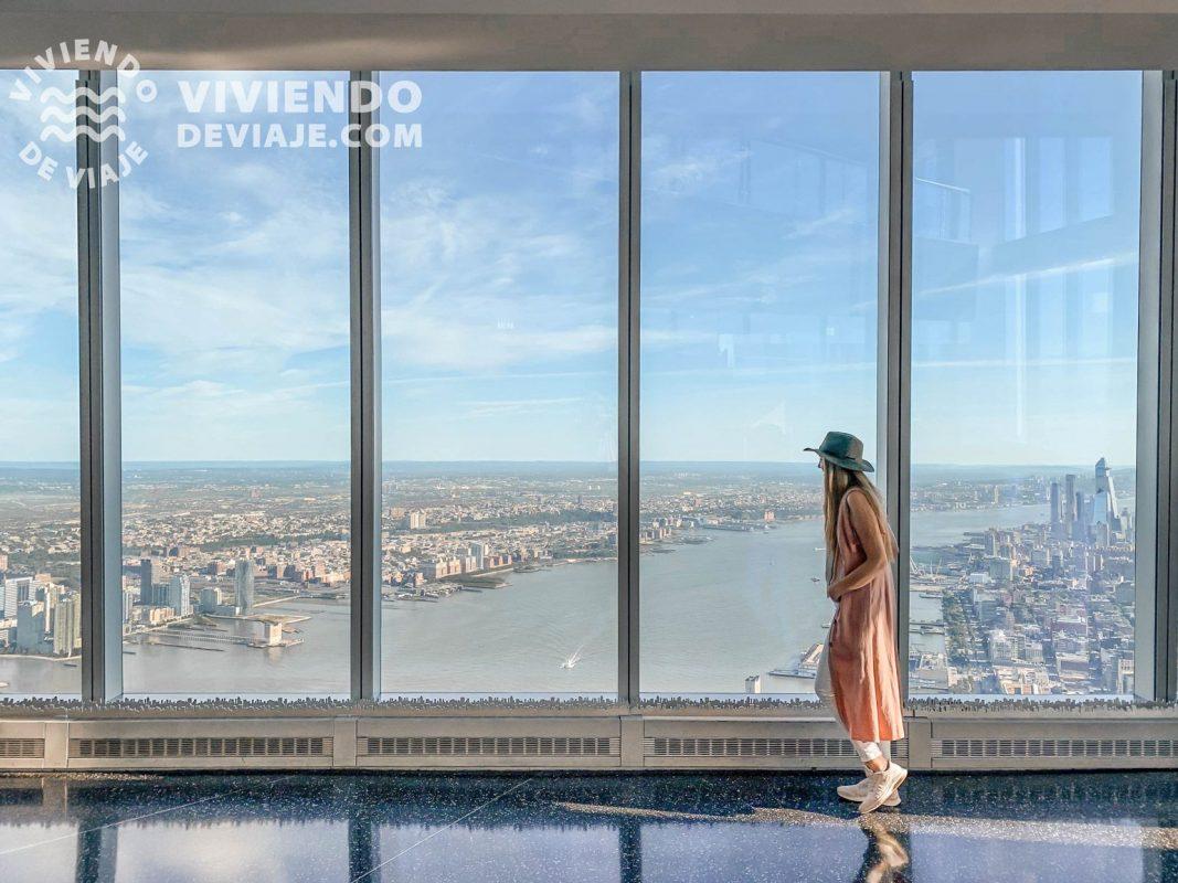 Vistas desde el One World Observatory | Tarjetas turísticas Nueva York