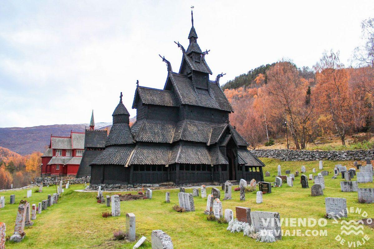 Iglesia de madera de Borgund Stave