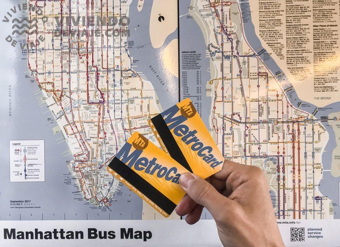 Consejos MetroCard de Nueva York