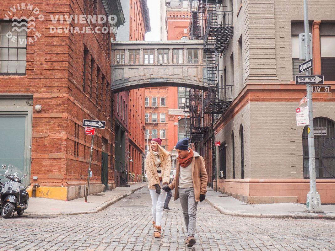 Barrio de Tribeca en Nueva York