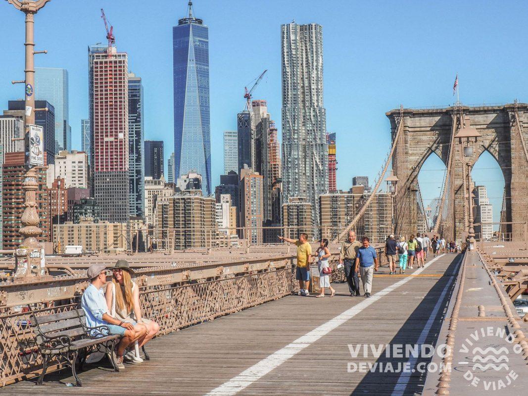 Cruzar el Puente de Brooklyn, una de las cosas que hacer en Nueva York sí o sí