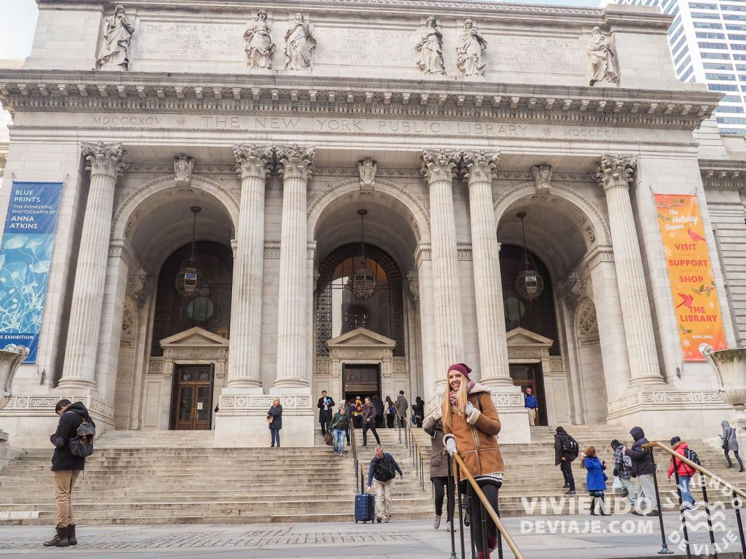 Librería pública de Nueva York