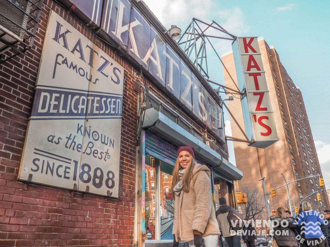 Restaurante Katz's en Nueva York