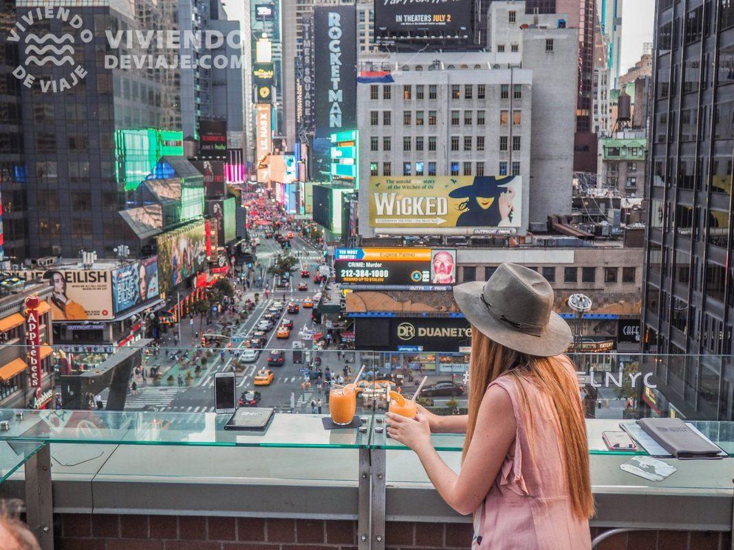 Terraza del Novotel Times Square