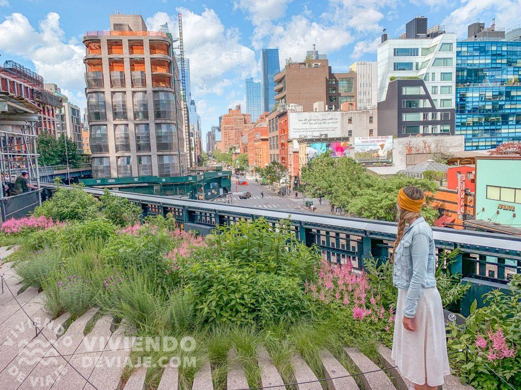 Pasear por el High Line, una de las cosas imprescindibles que hacer en Nueva York