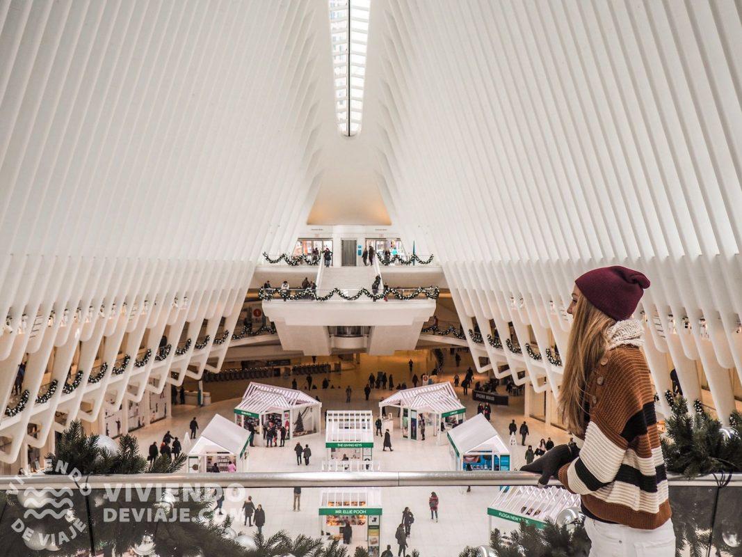 Estación del Oculus en Nueva York