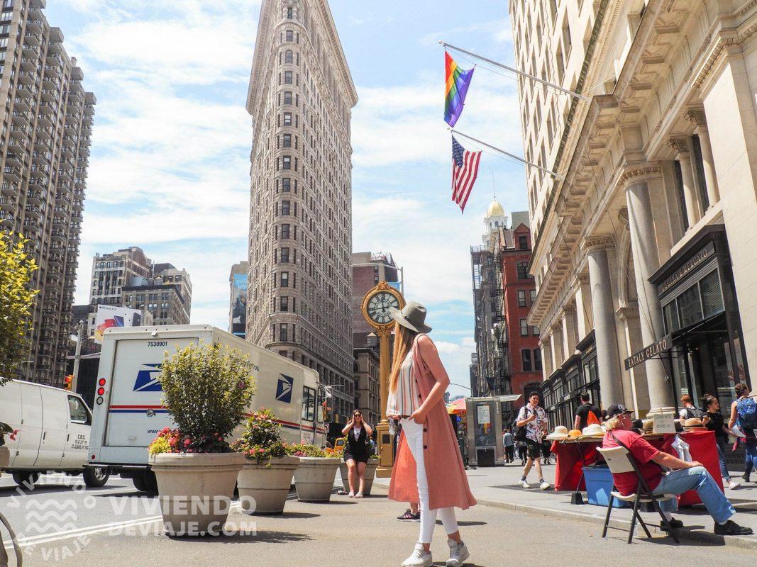 Edificio Flatiron, uno de los más importantes que ver en Nueva York