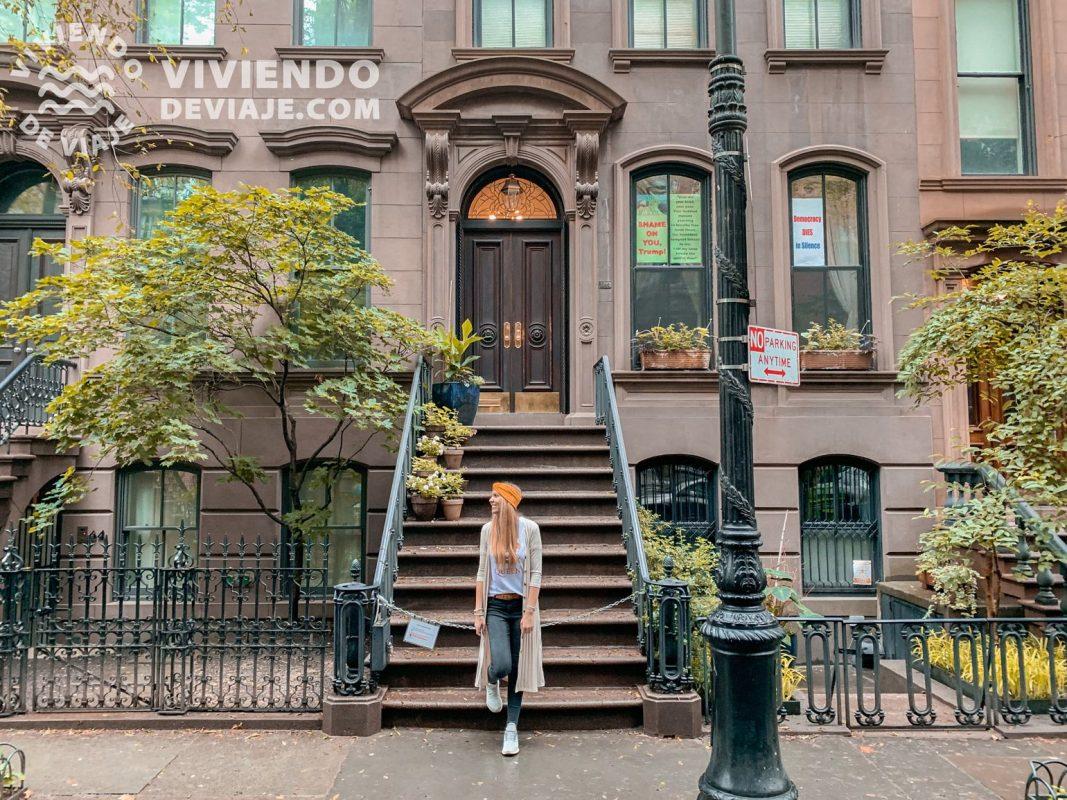 """Apartamento de Carrie en la serie """"Sexo en Nueva York"""""""