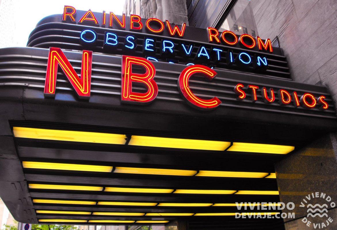 Tour por los estudios de la NBC en Nueva York