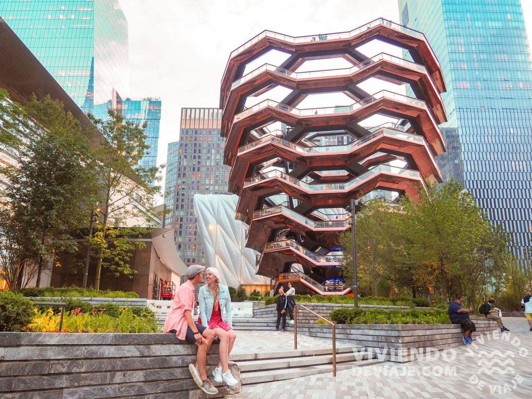 Edificio The Vessel en Hudson Yards