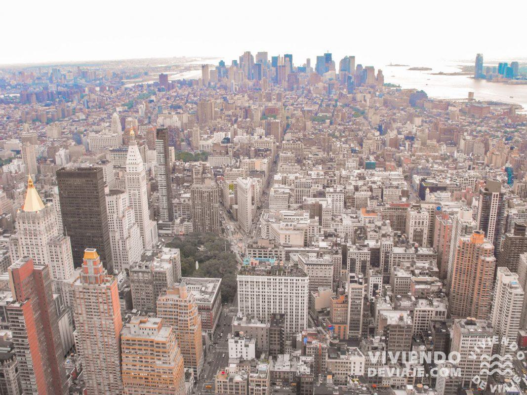 Vistas desde el Empire State | Todo un icono que visitar en Nueva York