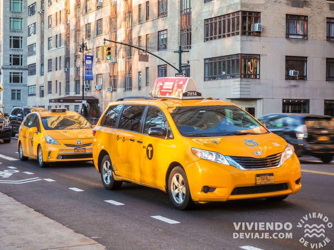 Cómo ir del aeropuerto de Newark al centro - Taxi