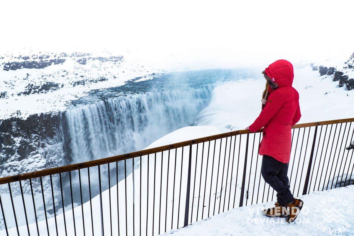 Lugares que ver en Islandia   Cascada Detifoss