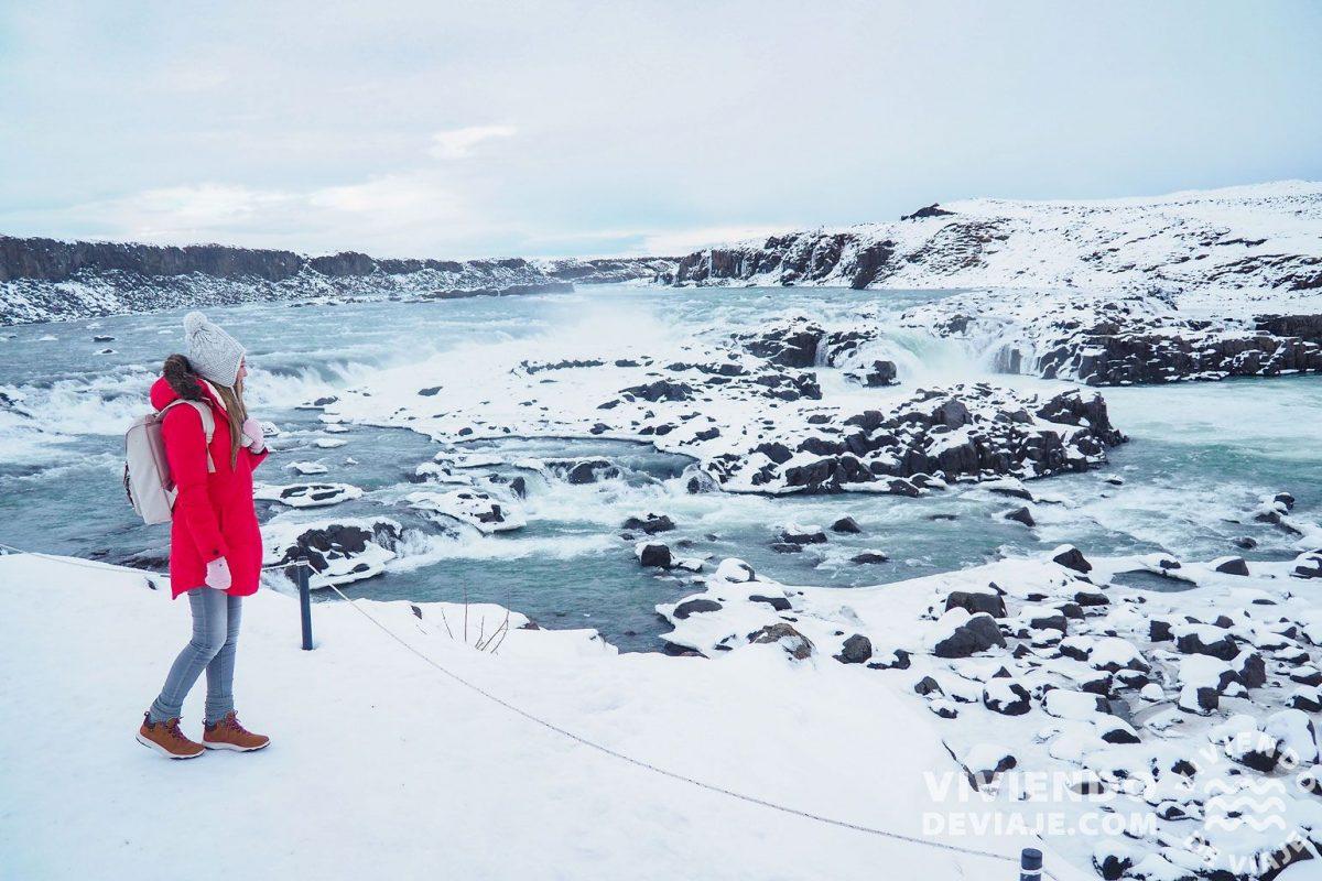Qué ver en Islandia   Urridafoss