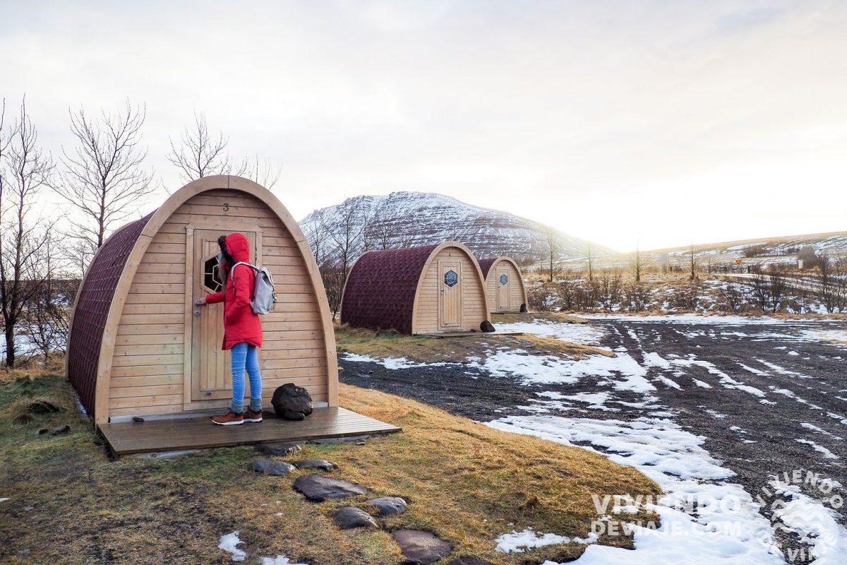 Alojamiento en Fossatun | 7 días en Islandia
