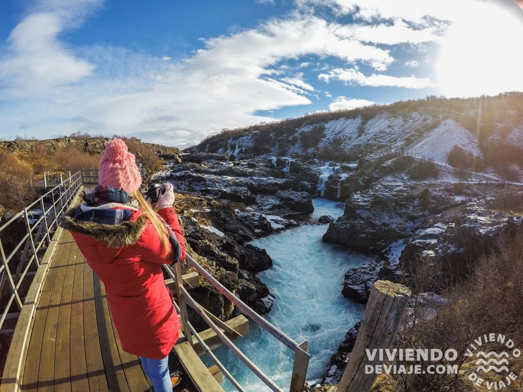 Cascada Barnafoss | Islandia en 7 días
