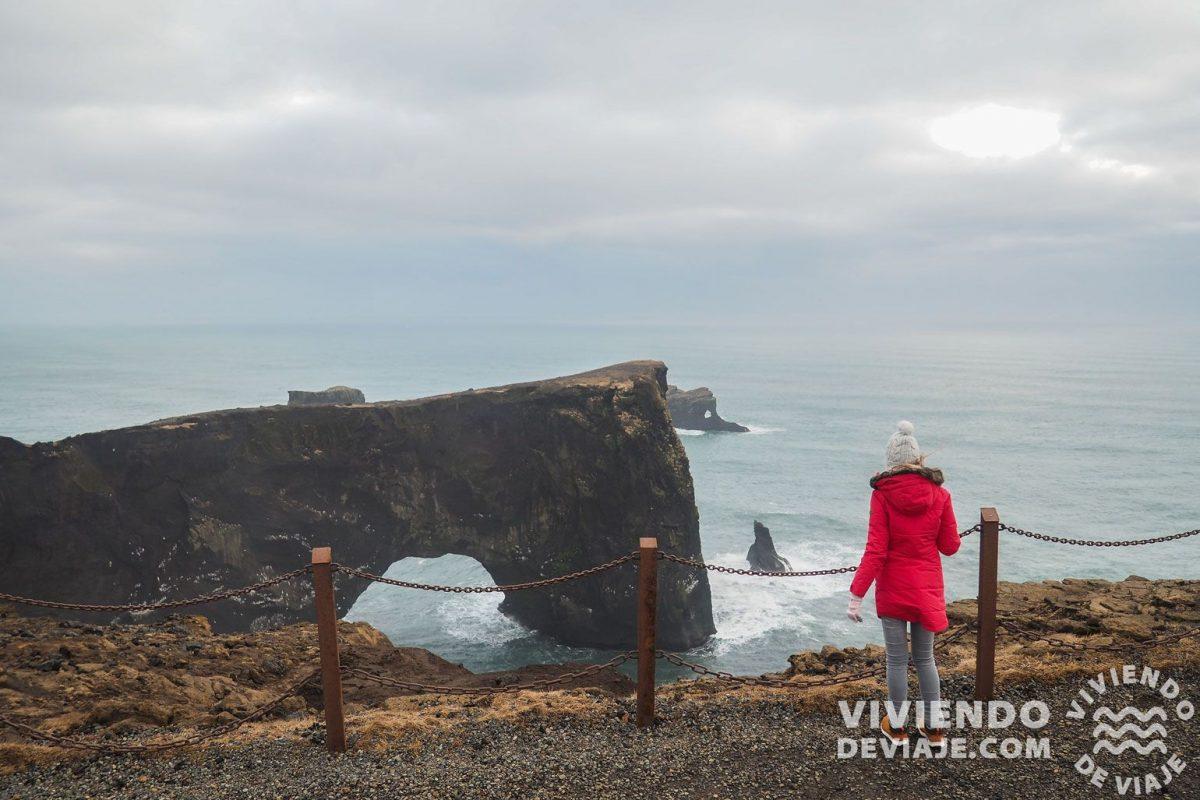 Acantilados Dyrholaey, Islandia en 7 días