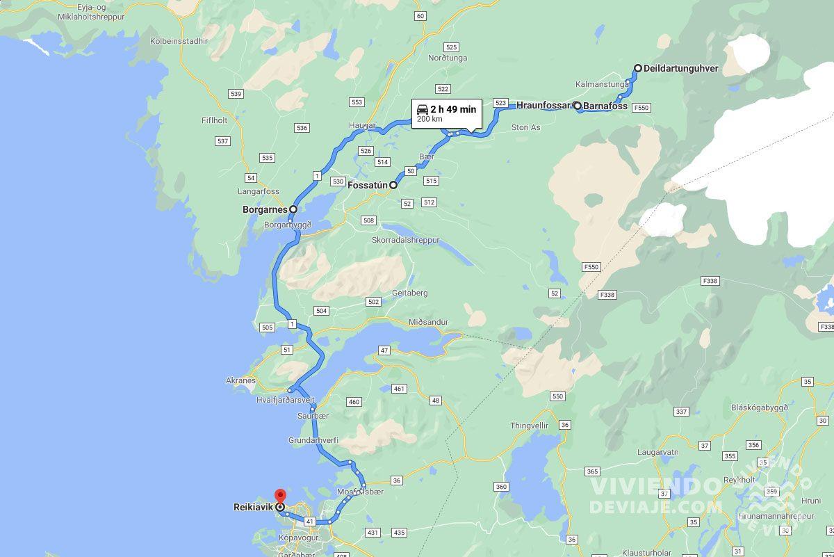Ruta por Islandia en 10 días, día 9