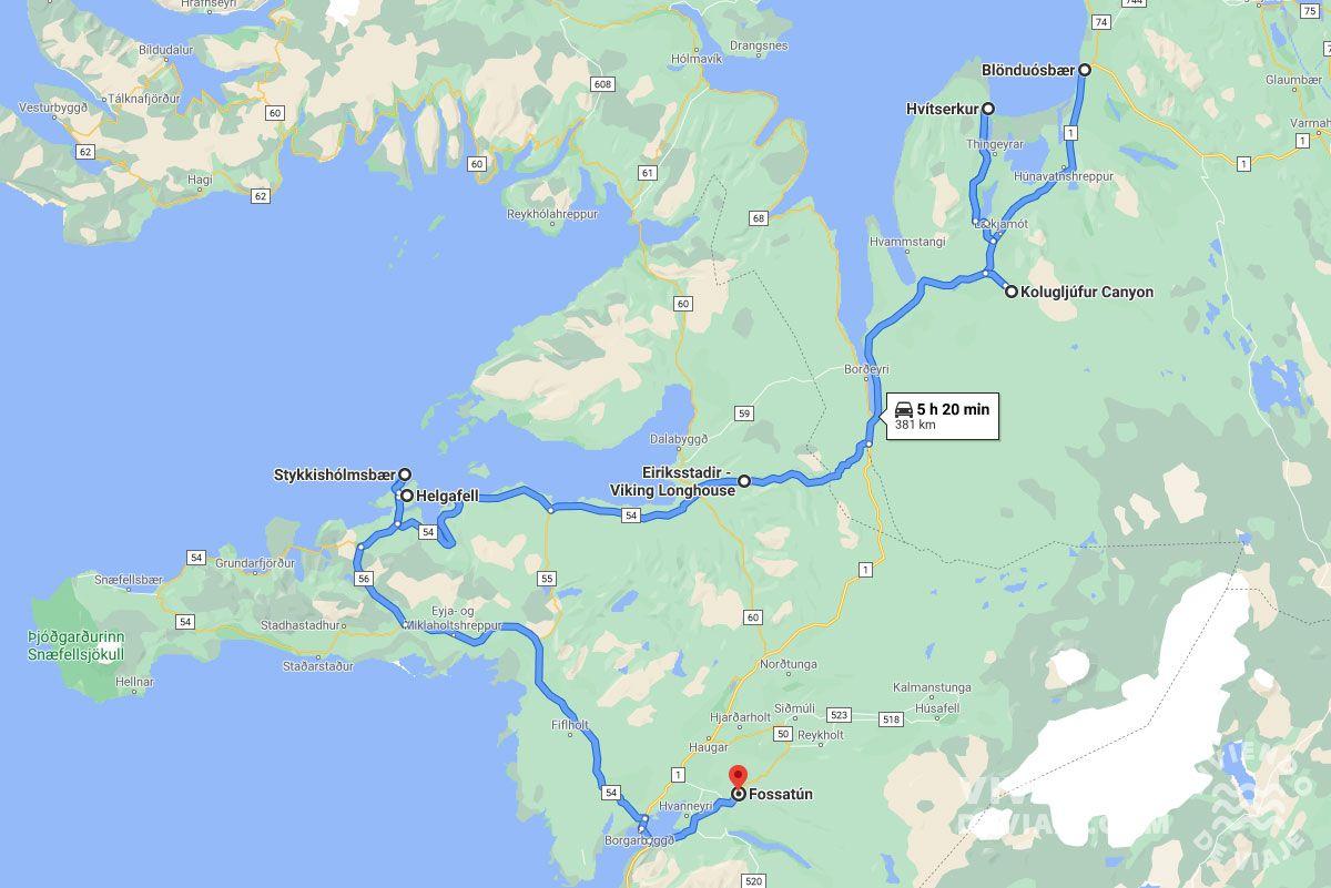 Ruta por Islandia en 10 días, día 8