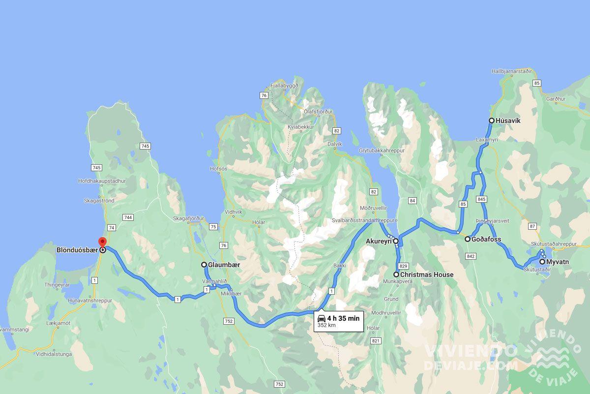 Ruta por Islandia en 10 días, día 7