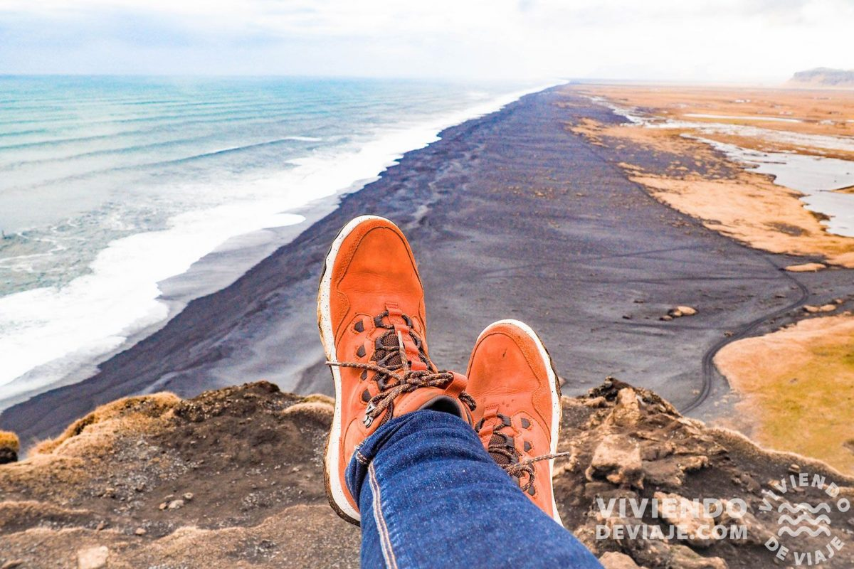 Ruta por Islandia, playa de Vik