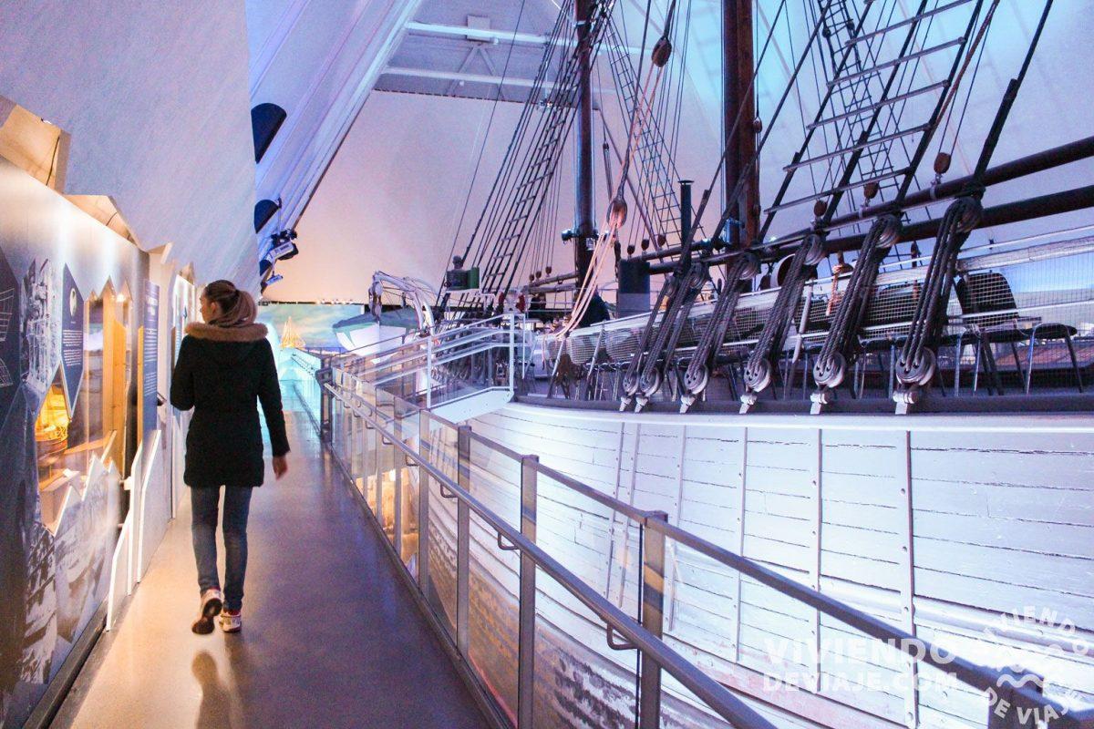Visitar el Museo del barco Fram | Oslo en dos días