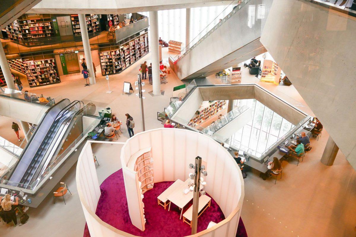 Lugares qué ver en Oslo en dos días | Biblioteca Deichman
