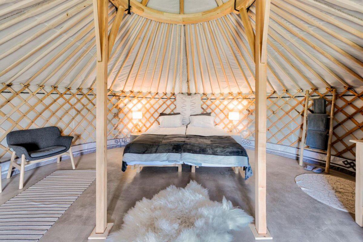 Náttúra Yurtel, un alojamiento diferente en el Círculo Dorado de Islandia