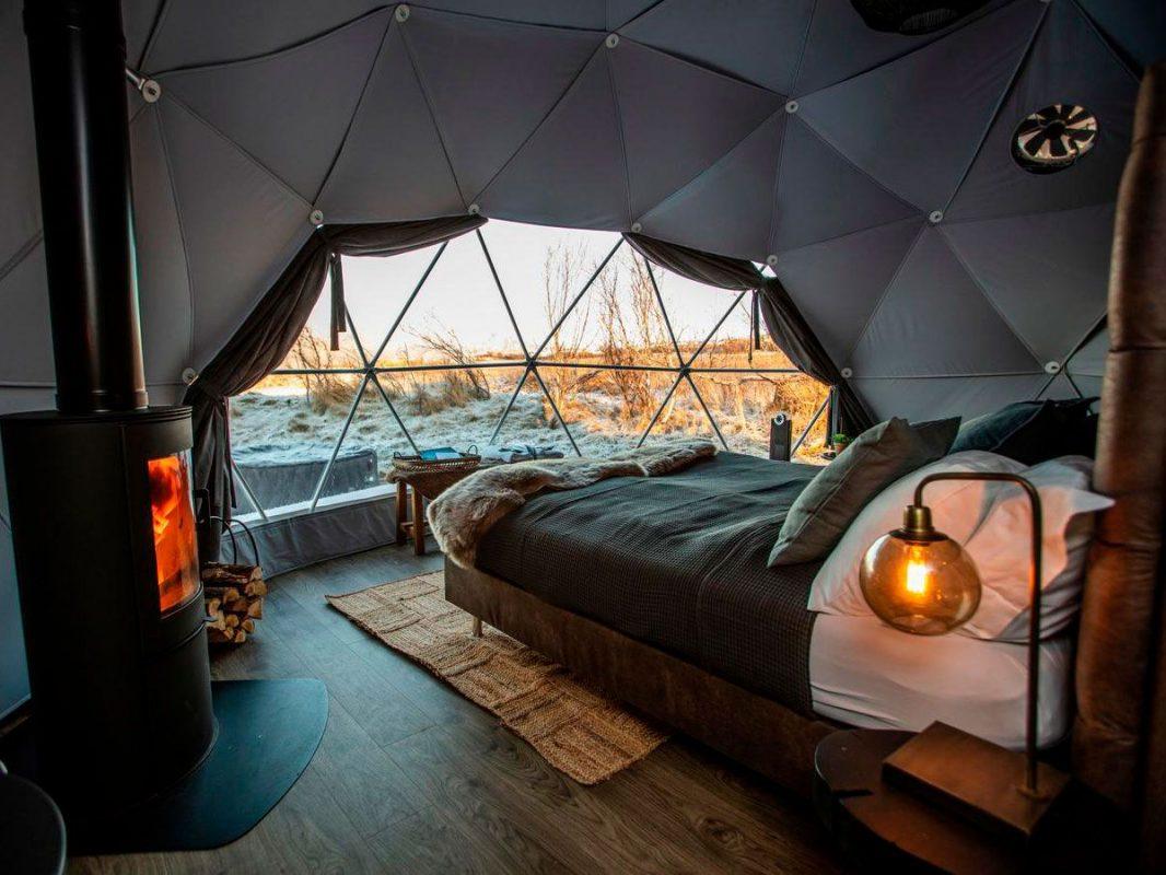 Mejores hoteles para ver auroras boreales en Islandia