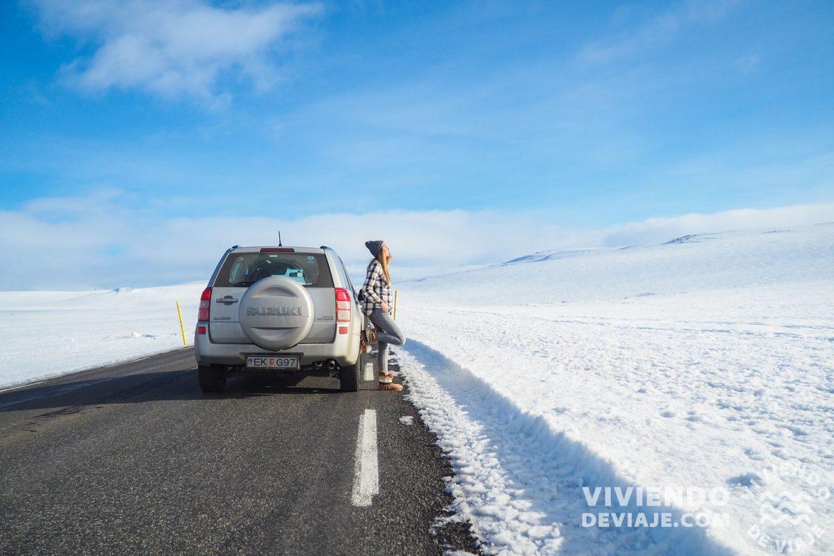 Coche de alquiler en Islandia