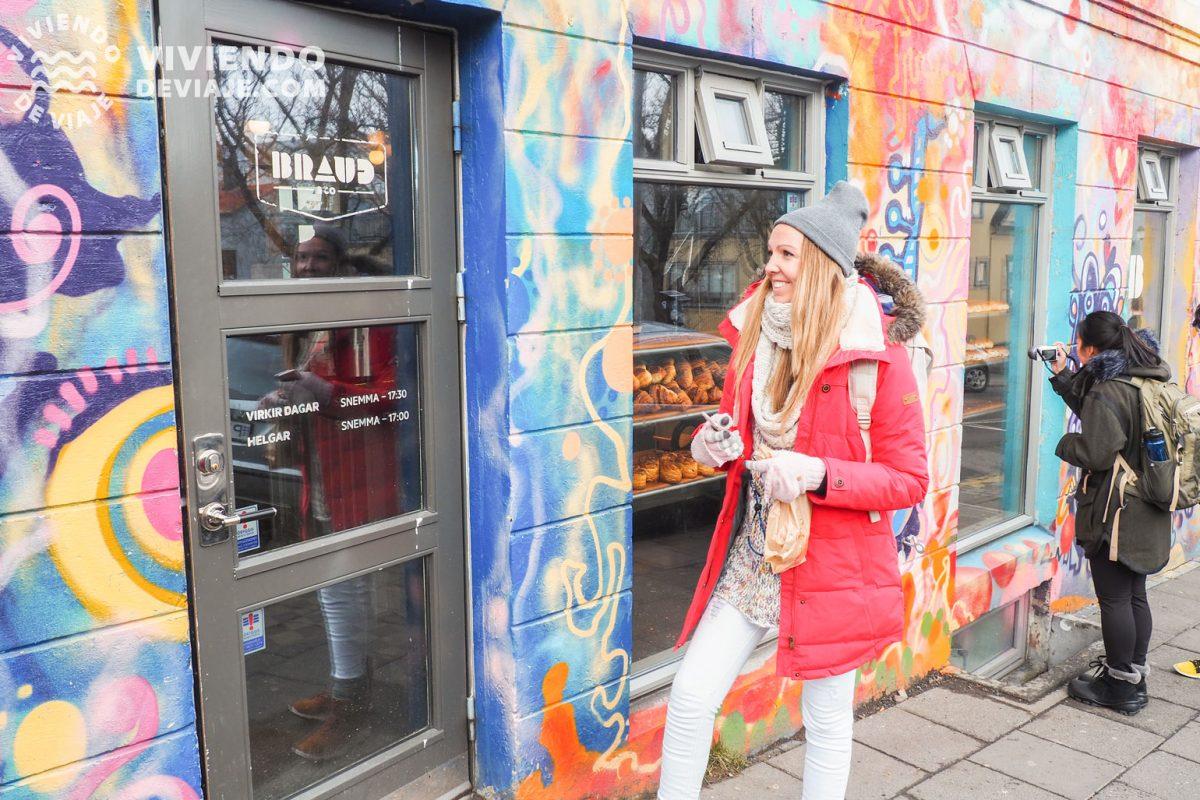 Qué hacer en Reikiavik, probar los bollos de la panadería Braud
