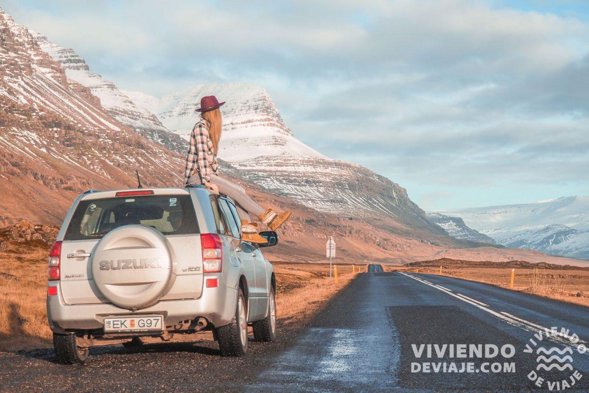 Presupuesto alquiler de coche en Islandia