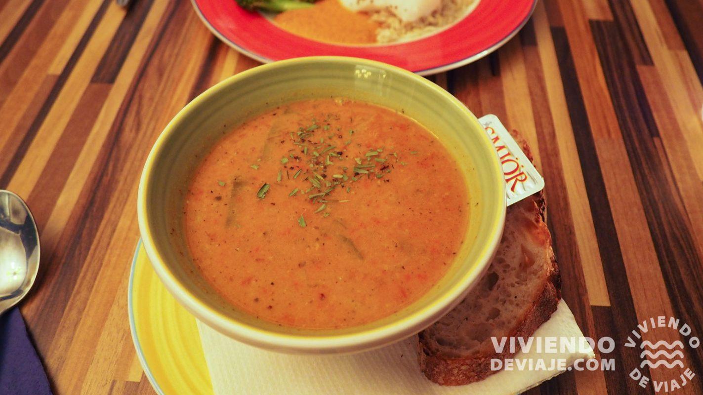 Sopa de pescado en Salka Valka - Fish & More en Reikiavik