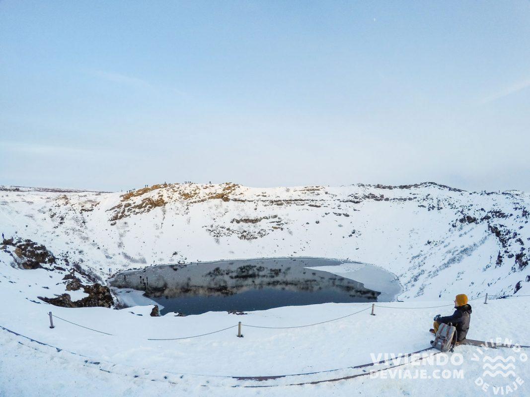 Crater Kerid en Islandia