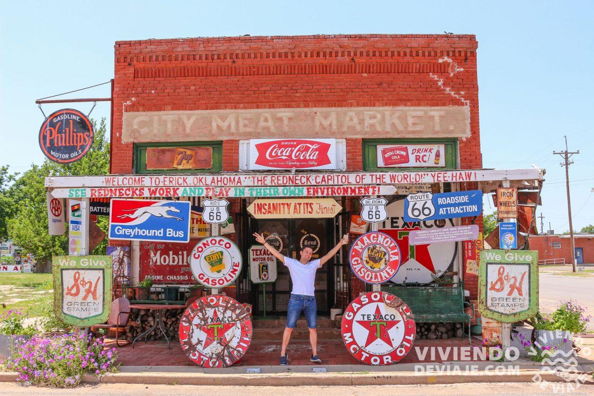 Ruta 66 en coche | City Meat Market