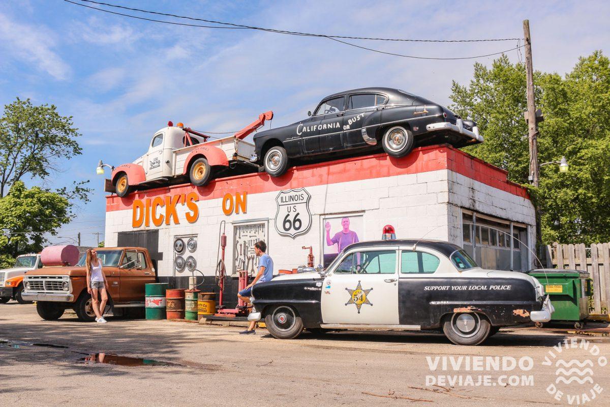 Recorrido Ruta 66 | Etapa 1 de Chicago a St. Louis