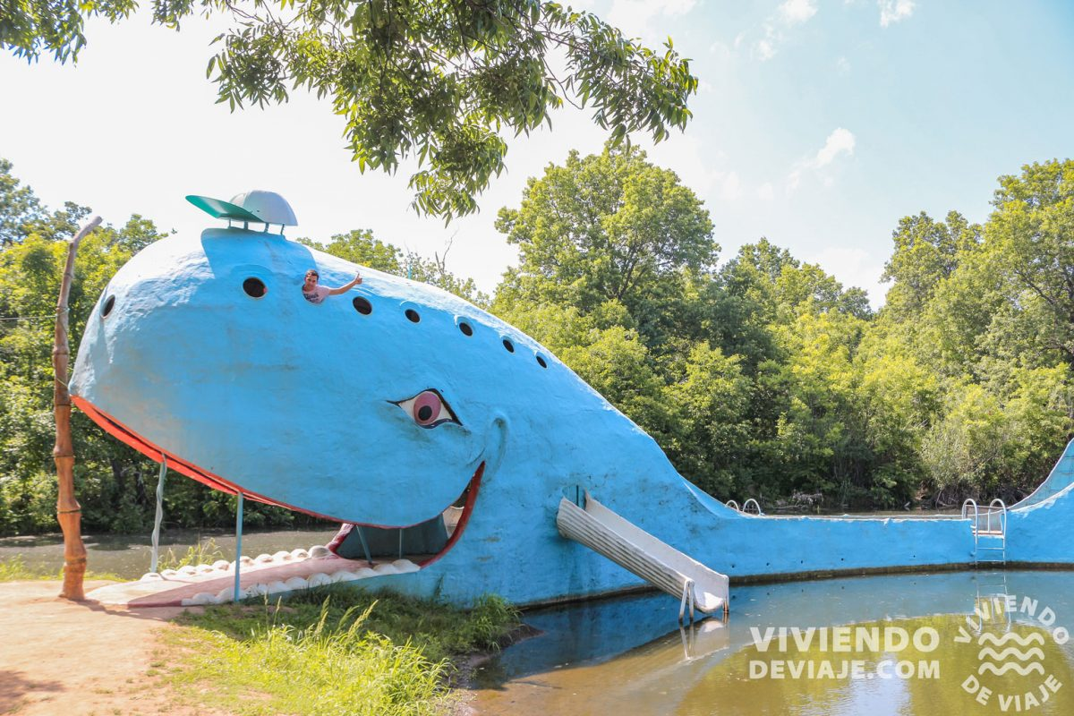 Blue Whale, lugar imprescindible que ver en la Ruta 66