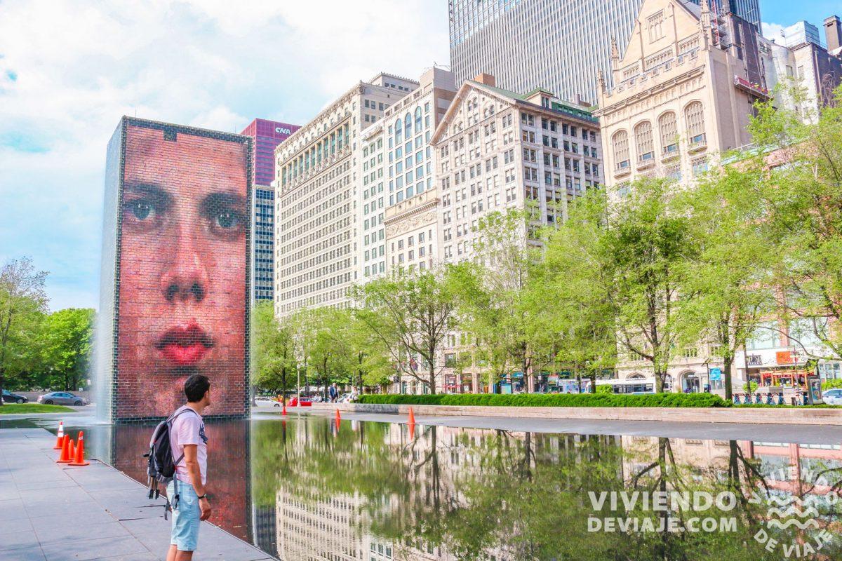 Qué ver en Chicago | Crown Fountain