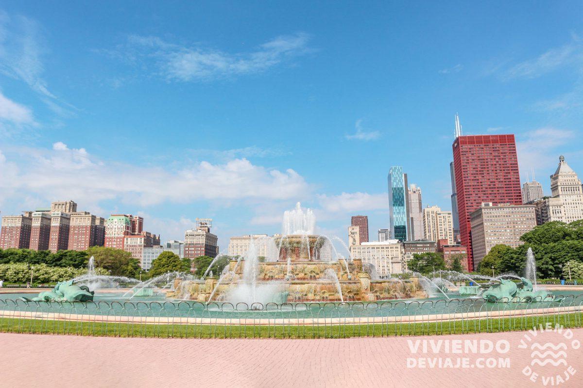 Qué ver en Chicago | Buckingham Fountain
