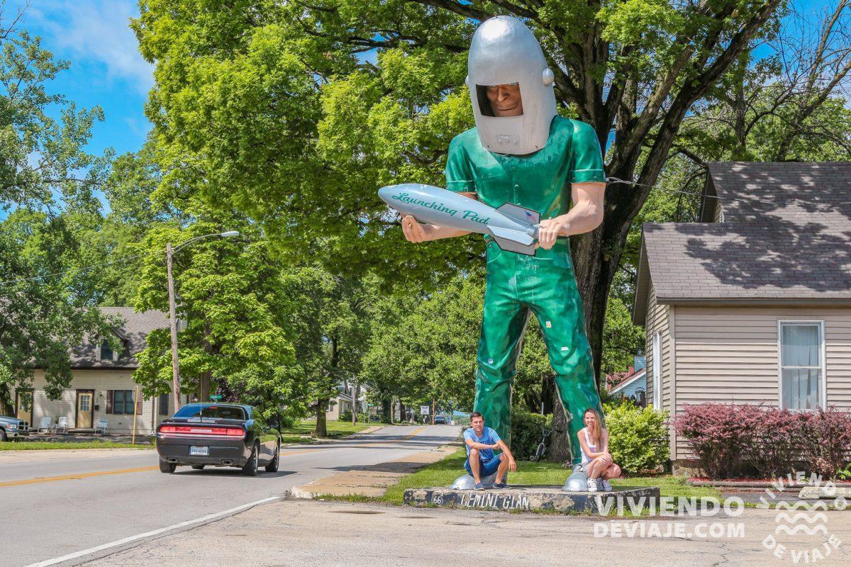 Gigante Gemini en la Ruta 66
